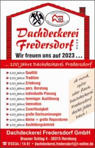 Dachdeckerei Fredersdorf Werbeschild